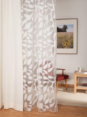 gardine tropfen mit bleiband. Black Bedroom Furniture Sets. Home Design Ideas