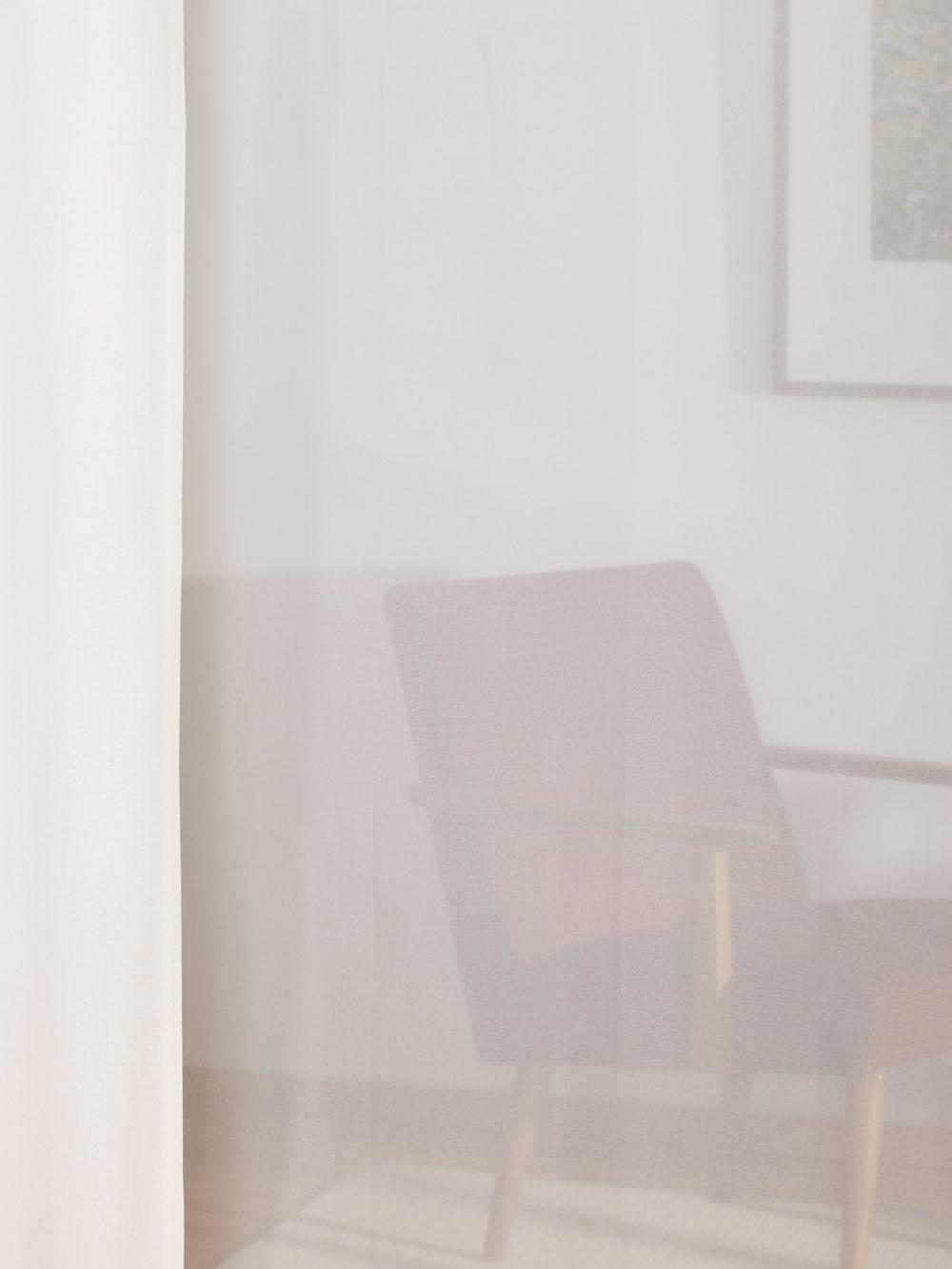 gardine 1919 voile mit bleiband. Black Bedroom Furniture Sets. Home Design Ideas