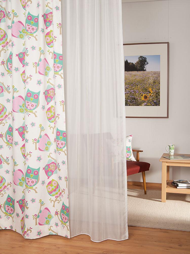 eulen dekorstoff. Black Bedroom Furniture Sets. Home Design Ideas
