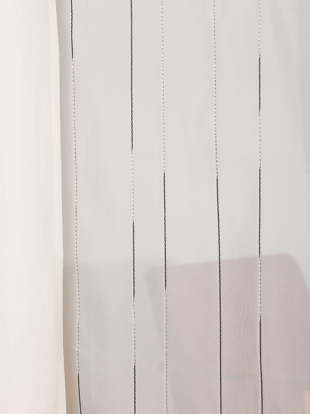 gardine 968 streif mit bleiband. Black Bedroom Furniture Sets. Home Design Ideas