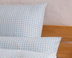 "bed linen ""Katharina squared"", made to measure aquablue"