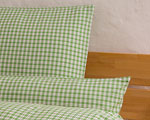 "bed linen ""Katharina squared"", made to measure - peagreen"