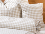 "bed linen ""Katharina squared"" pillowcase - beige"