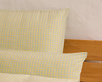 "yard ware ""Innviertler squared"" 144 cm breadth light yellow"