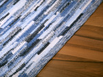 Carpet Sternstein made to measure blue mele