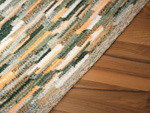 Carpet Sternstein made to measure gr�n-orange meliert