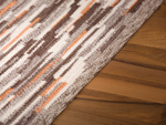 Carpet Sternstein made to measure braun-beige-orange meliert