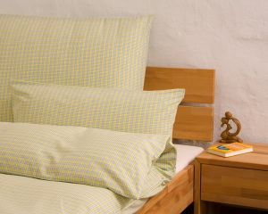 "Reversible bed linen ""Innviertler squared and striped"", made to measure"