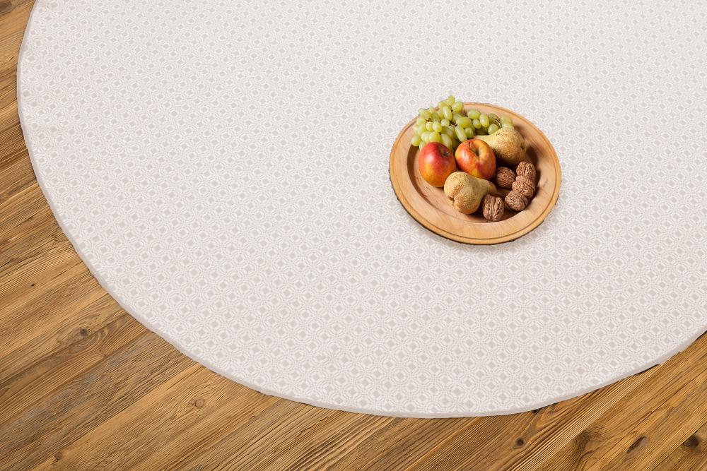 tischdecke rund zwilch 160 cm. Black Bedroom Furniture Sets. Home Design Ideas