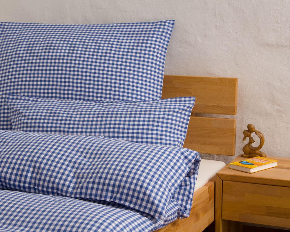 Bettwäsche Bauernkaro Bettdeckenbezug