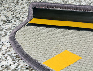 Was Ist Sisal stufenmatte sisal boucle 26x65 cm