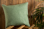 Merino wool pillow Manuela 55x55 cm