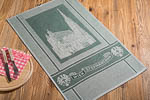 dish towel Stephansdom, 45x73cm - dark green