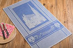 dish towel Stephansdom, 45x73cm - blue