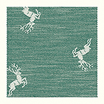 glass polishing cloth Hirsch, 48x70cm - dark green