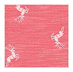 glass polishing cloth Hirsch, 48x70cm - red