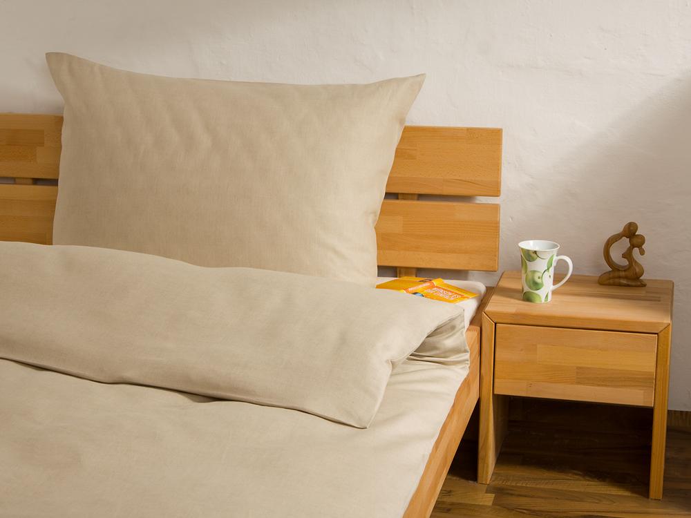 halbleinen bettw sche anfertigung nach ma. Black Bedroom Furniture Sets. Home Design Ideas