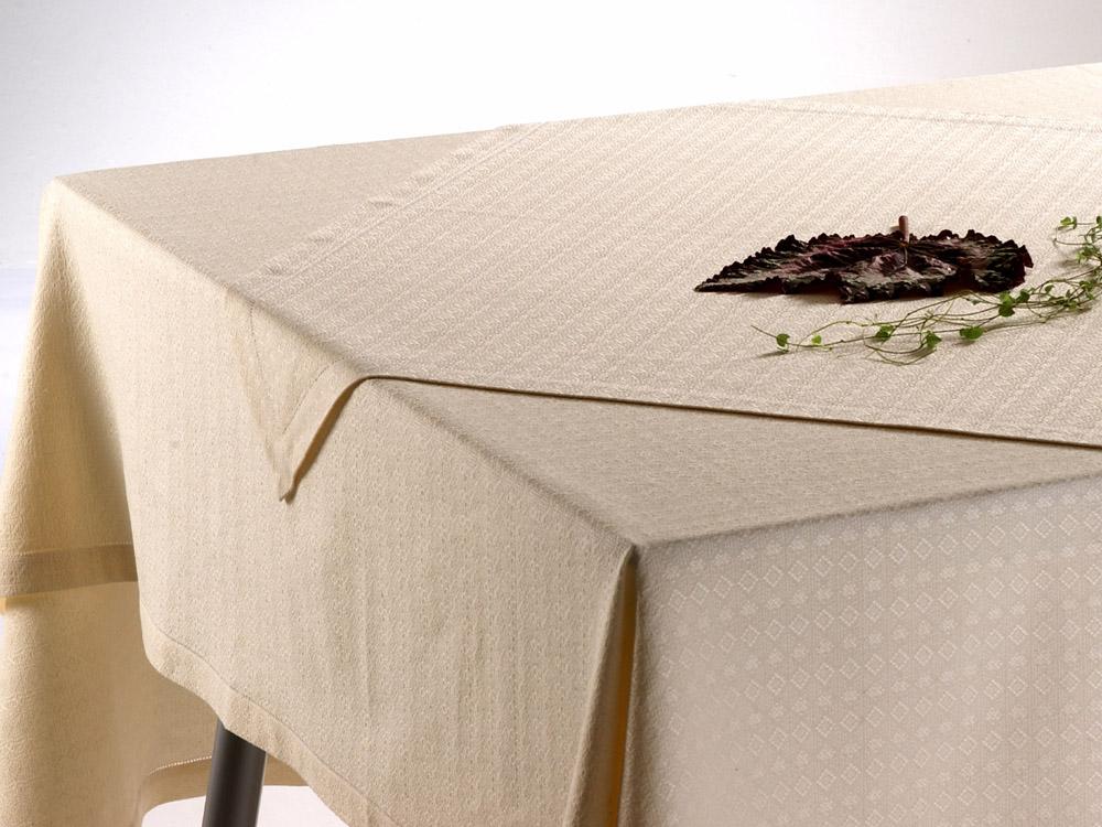 raute halbleinen tischdecke nach ma mit hohlsaum. Black Bedroom Furniture Sets. Home Design Ideas